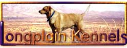 Longplain Kennels, Reg'd.  	-- click here to access the no-frames site map